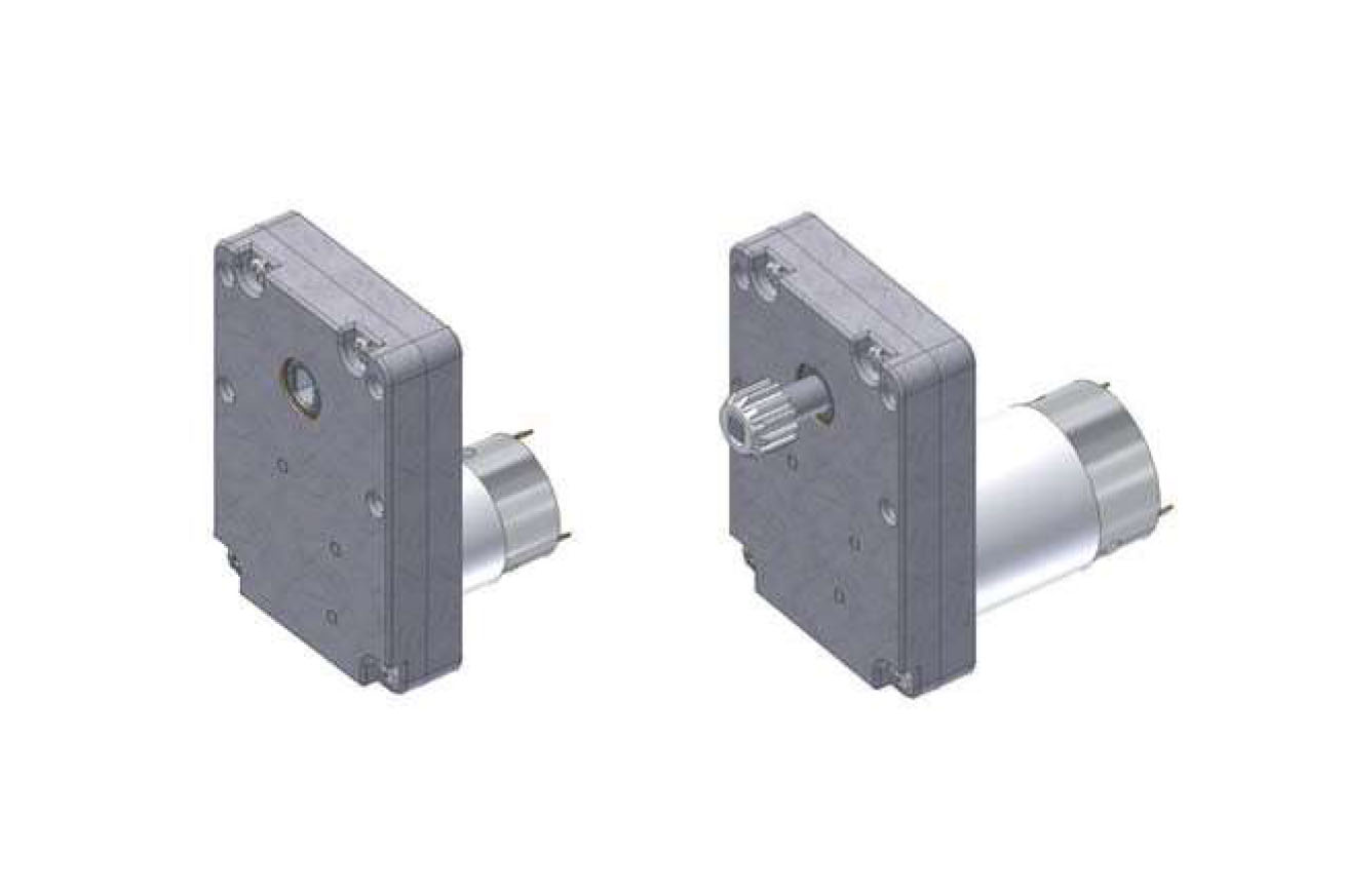 Series 265 DC Gear Motor