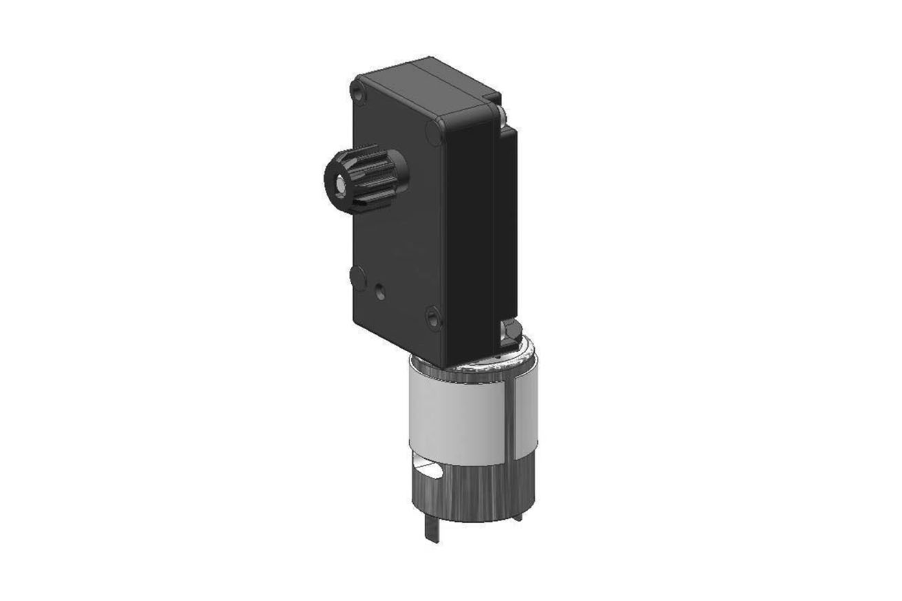 Series 266 DC Gear Motor